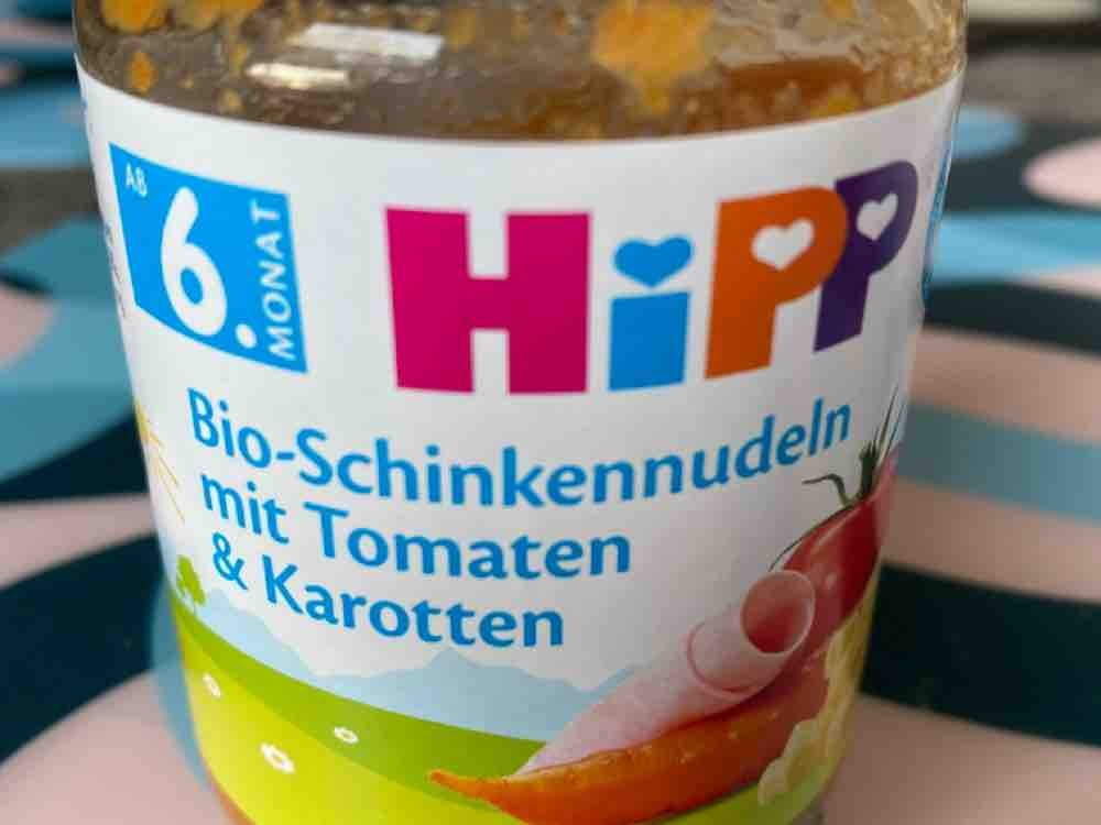 Bio-Schinkennudeln mit Tomaten & Karotten von hardy18   Hochgeladen von: hardy18