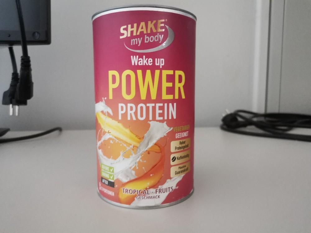 Wake Up Power Protein, Koffeinhaltig von BenSt | Hochgeladen von: BenSt