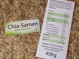 Chia-Samen, Dr. Jacobs, neutral | Hochgeladen von: klaramaria46