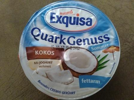 Quarkcreme Kokos, fettarm   Hochgeladen von: spartopf844