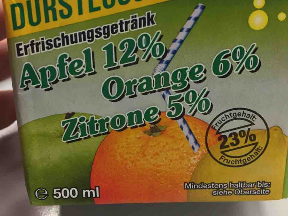 Durstlöscher , Apfel Orange Zitrone von nmeels809 | Hochgeladen von: nmeels809