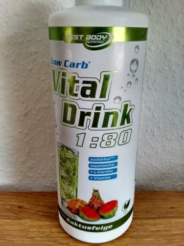 Fotos und Bilder von Getränke, Low Carb Vital Drink, Kaktus-Feige ...