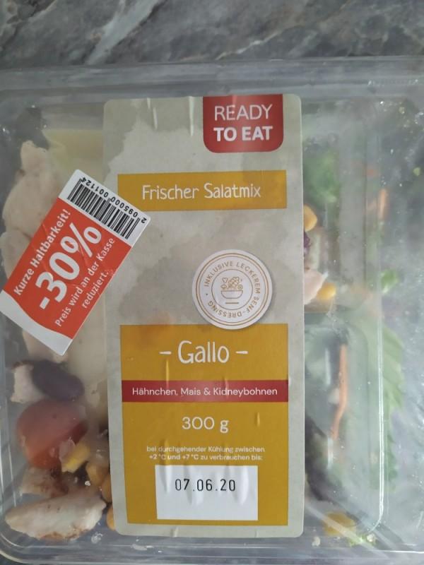 Frischer Salatmix Gallo, Hähnchen Mais Kidneybohnen von Mister Fun   Hochgeladen von: Mister Fun