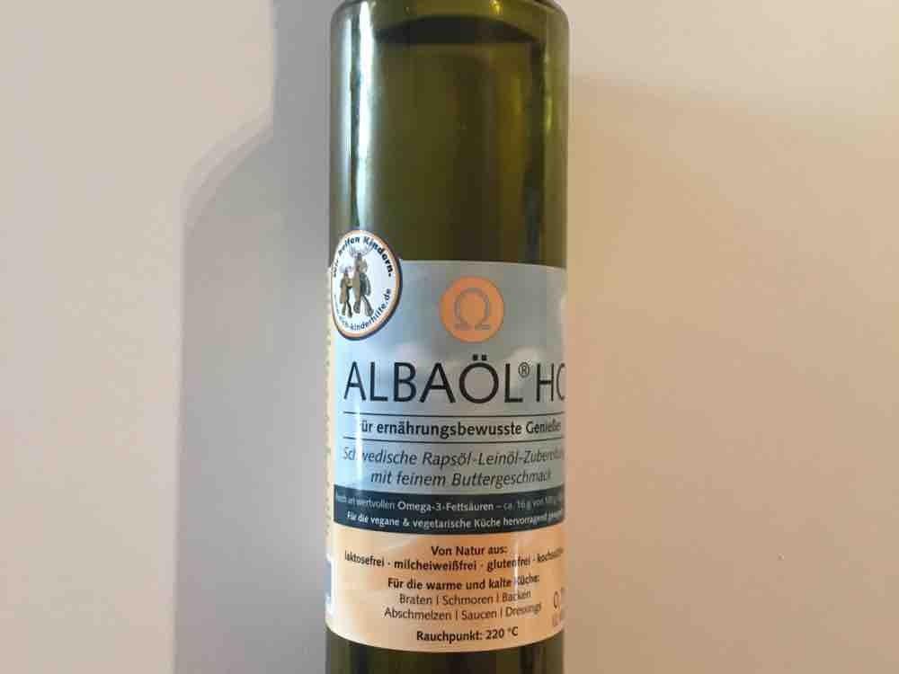 Albaöl HC Raps-Leinöl Buttergeschmack , Rauchpunkt 220C von slimichel   Hochgeladen von: slimichel
