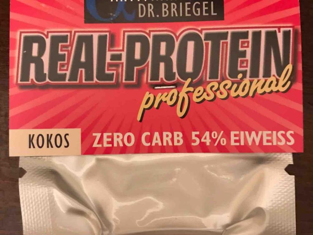 Real-Protein Eiweiss-Riegel, Kokos von AteBee | Hochgeladen von: AteBee