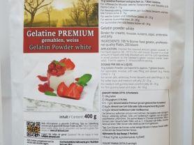 Gelatine Premium, 100 % Rind   Hochgeladen von: CoonieCat