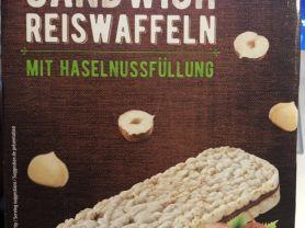 Sandwich Reiswaffeln, Haselnuss   Hochgeladen von: mdreier