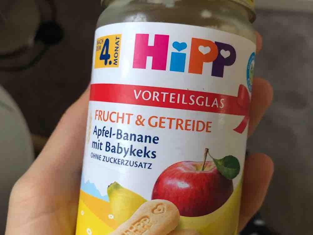 Apfel - Banane mit Babykeks von VictoriaSiEgLer | Hochgeladen von: VictoriaSiEgLer