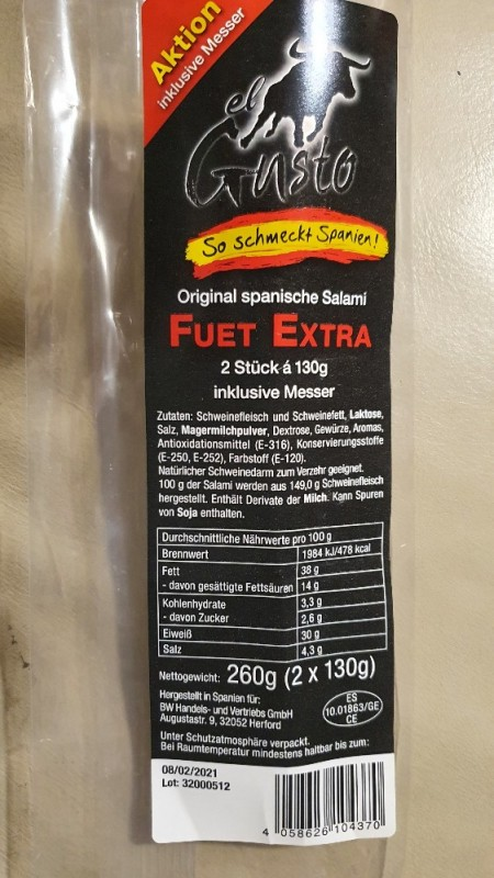 Fuet Extra, spanische Salami von hoples1000 | Hochgeladen von: hoples1000