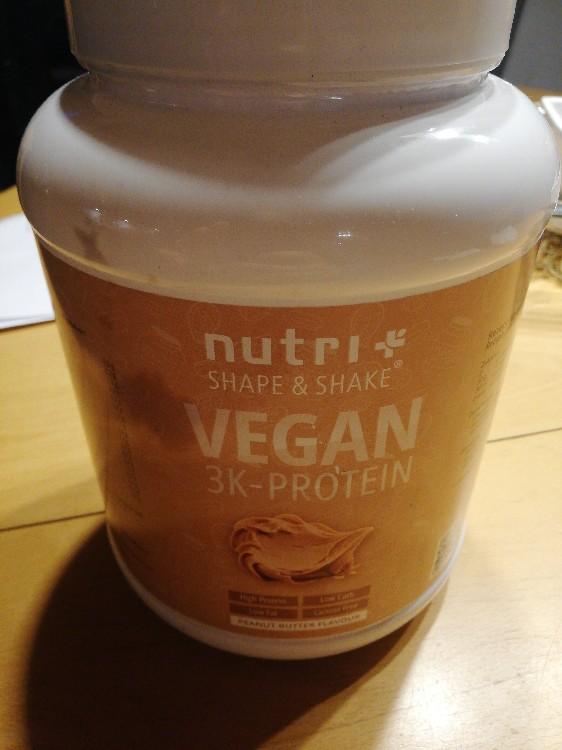 Vegan nutri Shape & Shake 3K peanut butter von Coach Matze | Hochgeladen von: Coach Matze