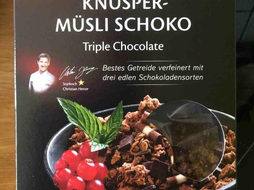 Knusper-Müsli Schoko, Triple Chocolate von jobsty   Hochgeladen von: jobsty