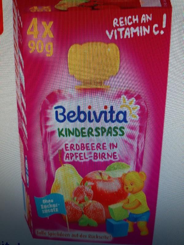 Bebivita  Kinderspass Erdbeeren in Apfel-Birne von JJU | Hochgeladen von: JJU
