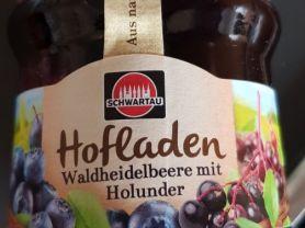 Hofladen, Waldheidelbeere mit Holunder | Hochgeladen von: Makra24