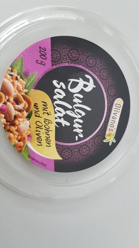 Bulgur-Salat, mit Bohnen und Oliven von baumbart | Hochgeladen von: baumbart