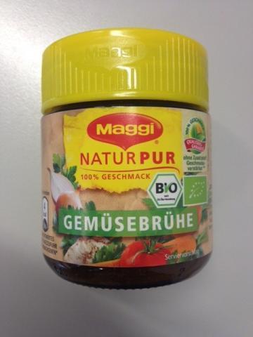 NaturPur Gemüsebrühe, zubereitet   Hochgeladen von: xmellixx