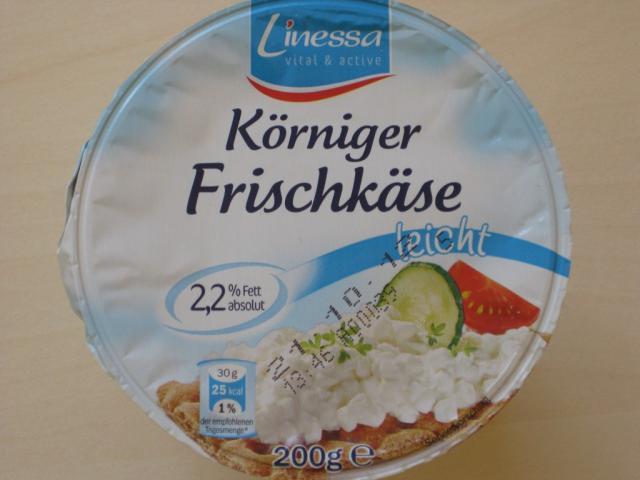 Körniger Frischkäse light, 2,2% Fett   Hochgeladen von: mr1569