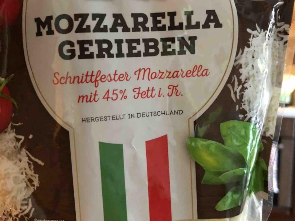 Mozzarella gerieben 45% Mondo Italiano Netto von Maya2010 | Hochgeladen von: Maya2010