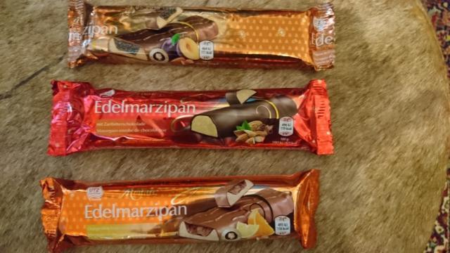 Edelmarzipan Orangenlikör-Trüffel mit Vollmilchschokolade | Hochgeladen von: Mystera