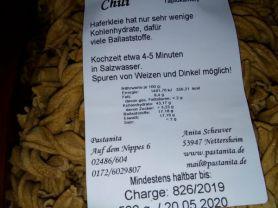 Haferkleie Nudeln, Chili   Hochgeladen von: daturmeli