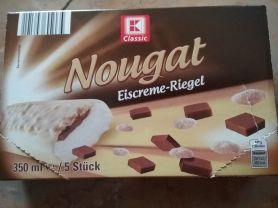 Kaufland K-Classic Nougat Eiskrem-Riegel, Nougat Vanille | Hochgeladen von: Rallenta