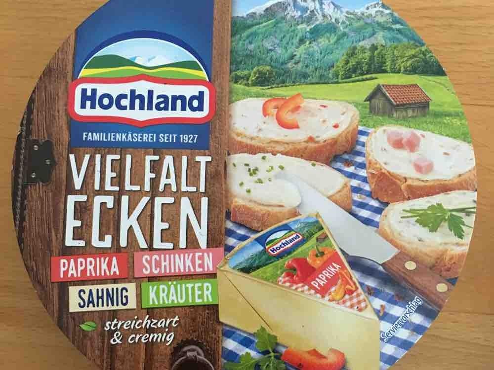 Käse-Ecken, Kräuter, Schinken, Paprika, Sahne von MFP | Hochgeladen von: MFP