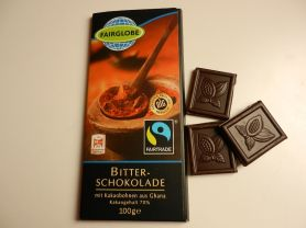 Bitter-Schokolade Fairglobe | Hochgeladen von: maeuseturm