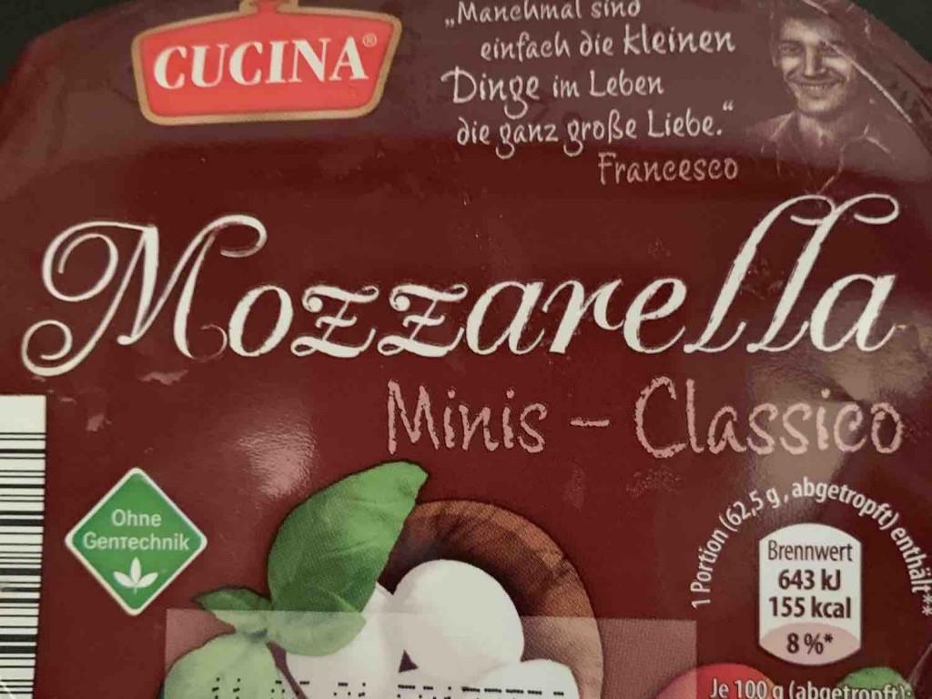 Mozzarella, Minis - Classico von karinalehmkuhl961 | Hochgeladen von: karinalehmkuhl961