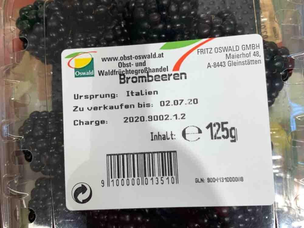 Spar Vital Österreichische Brombeeren von jasa   Hochgeladen von: jasa