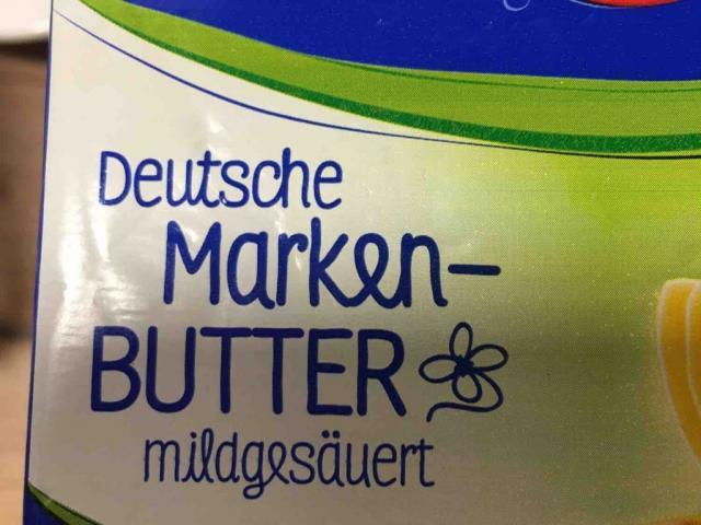 Deutsche Markenbutter, mildgesäuert, 83% Fett von stefaniedietze19383 | Hochgeladen von: stefaniedietze19383
