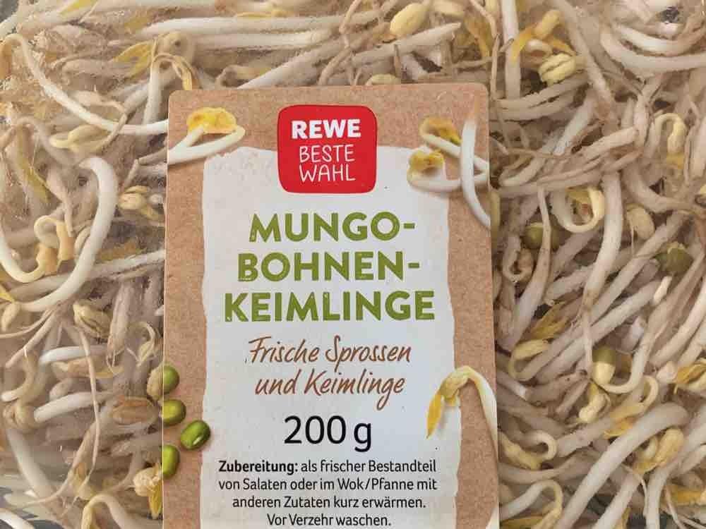 Mungobohnensprossen, frisch von karinorschl | Hochgeladen von: karinorschl