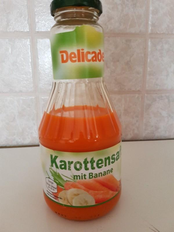 Delicade Karottensaft mit Banane von Kerstin9.83   Hochgeladen von: Kerstin9.83