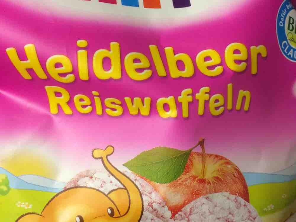 Heidelbeer Reiswaffeln von Technikaa   Hochgeladen von: Technikaa