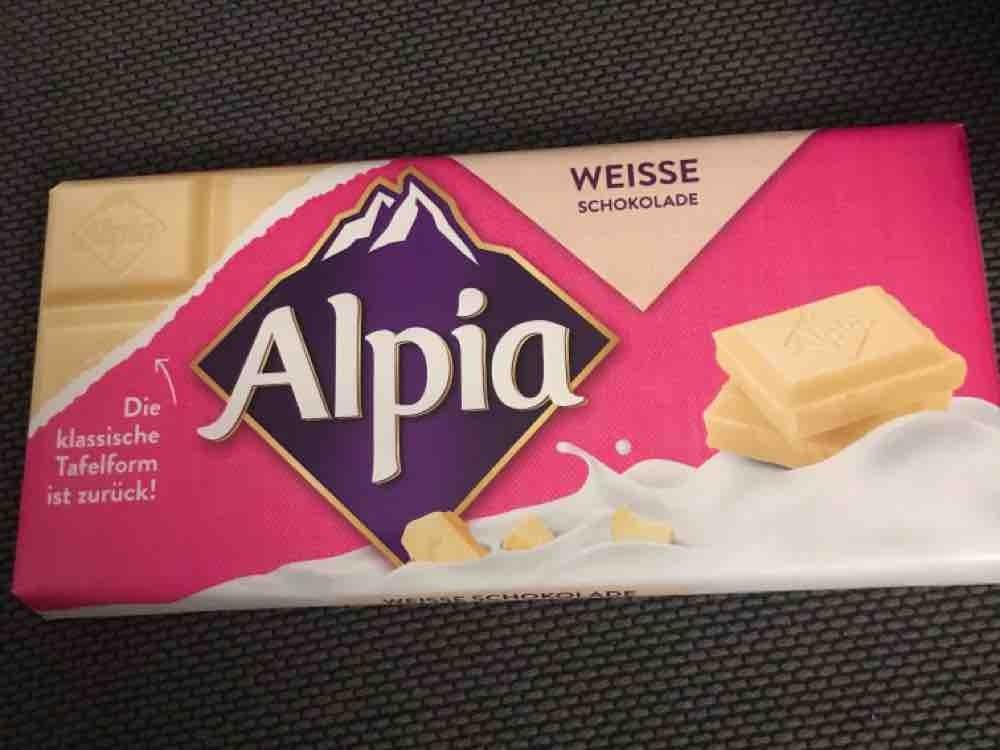Alpia Weiße Schokolade von irhu | Hochgeladen von: irhu