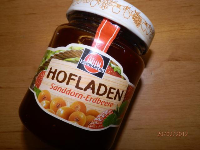 Hofladen Heimische Fruchtsorten, Sanddorn-Erdbeere | Hochgeladen von: steini6633