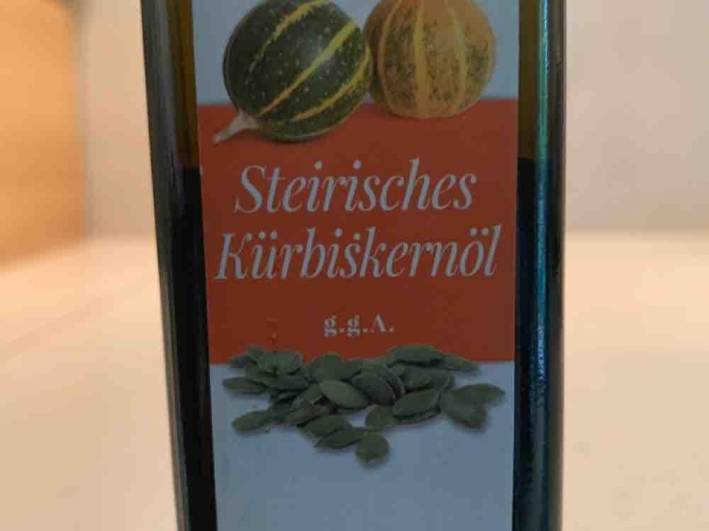 Kürbiskernöl kalt gepresst von Doris1958   Hochgeladen von: Doris1958