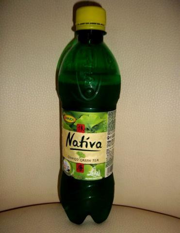 Fotos und Bilder von Getränke, Rauch Nativa Ginkgo Green Tea, Ginkgo ...