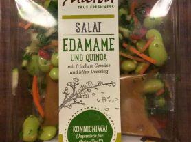 Edamame und Quinoa Salat, mit frischem Gemüse und Miso-Dress | Hochgeladen von: Jules77H