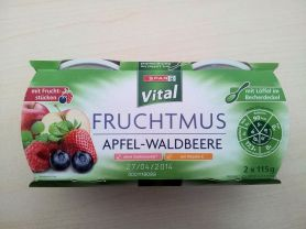 Fruchtmus - Apfel-Waldbeere | Hochgeladen von: Sonja1966