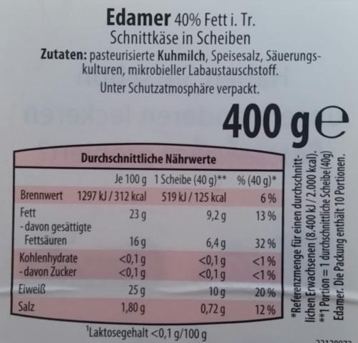 Edamer 40% Fett i. Tr. | Hochgeladen von: jumbo1972