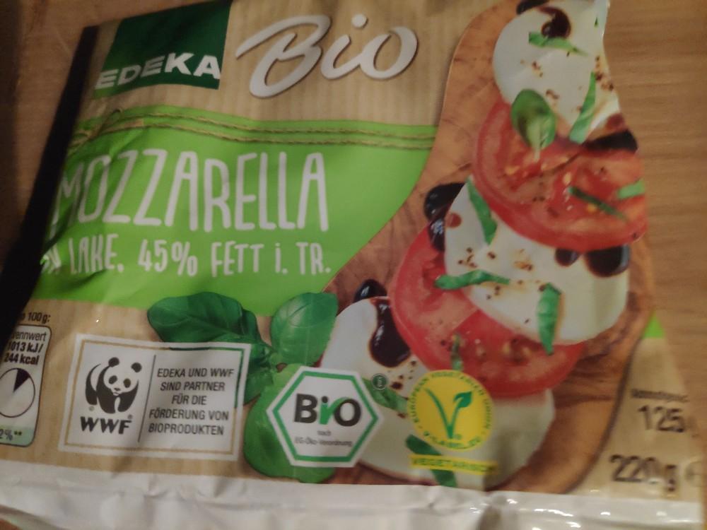 Bio Mozzarella in Lake, 45% Fett i. Tr. von diedickeemma | Hochgeladen von: diedickeemma