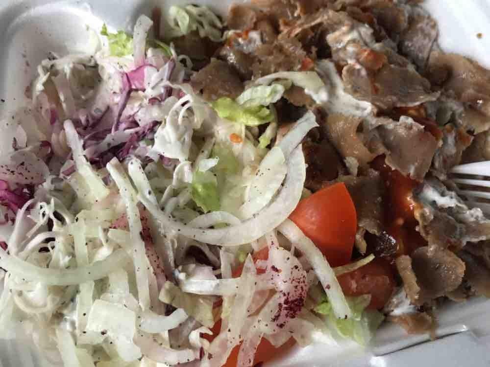Dönerteller Kalbfleisch mit Salat ohne Reis/Pommes von RONZN | Hochgeladen von: RONZN