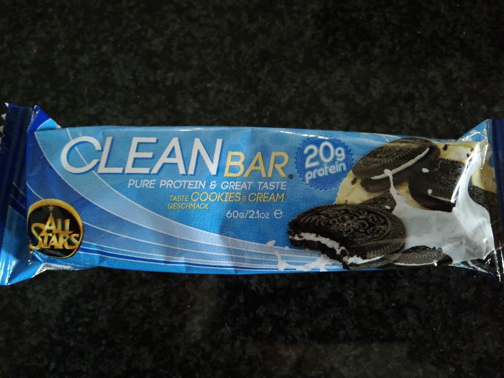 Clean Bar, Cookies and Cream von prcn923   Hochgeladen von: prcn923