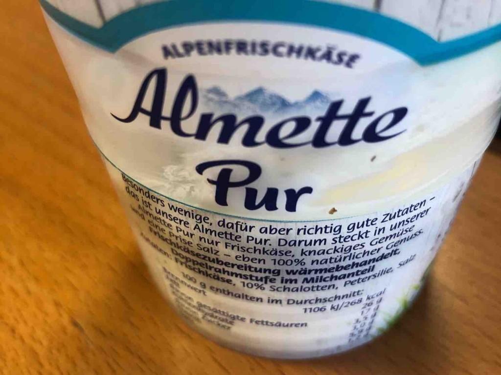 Almette Pur Schalotte-Petersilie, 100% Natur von Andreab | Hochgeladen von: Andreab