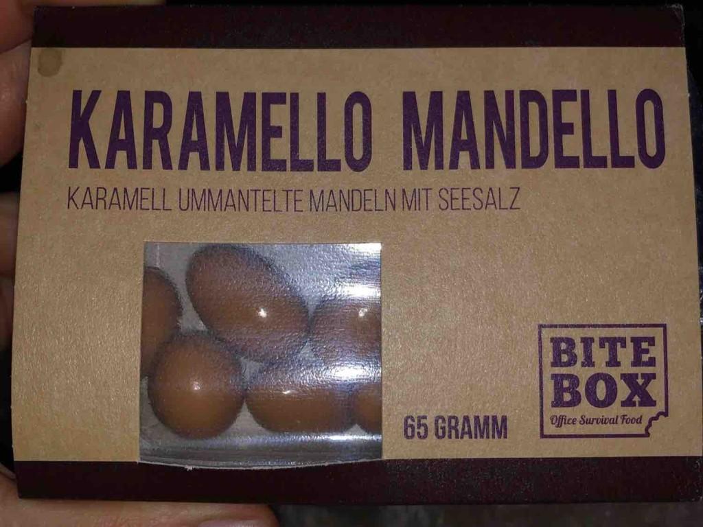 Karamello Mandello, karamellummantelte Mandeln mit Seesalz von MoneK83 | Hochgeladen von: MoneK83