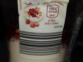 aldi s d vital becher joghurt mit erdbeeren und knusperm sli mit kokos kalorien joghurt fddb. Black Bedroom Furniture Sets. Home Design Ideas