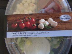 Anfrisa Salat und Pasta , Tomate-Mozzarella mit Dill-Senf-Dr | Hochgeladen von: mehrfrau