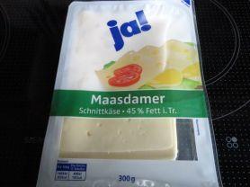 Maasdamer Schnittkäse, 45% Fett i. Tr. | Hochgeladen von: reg.