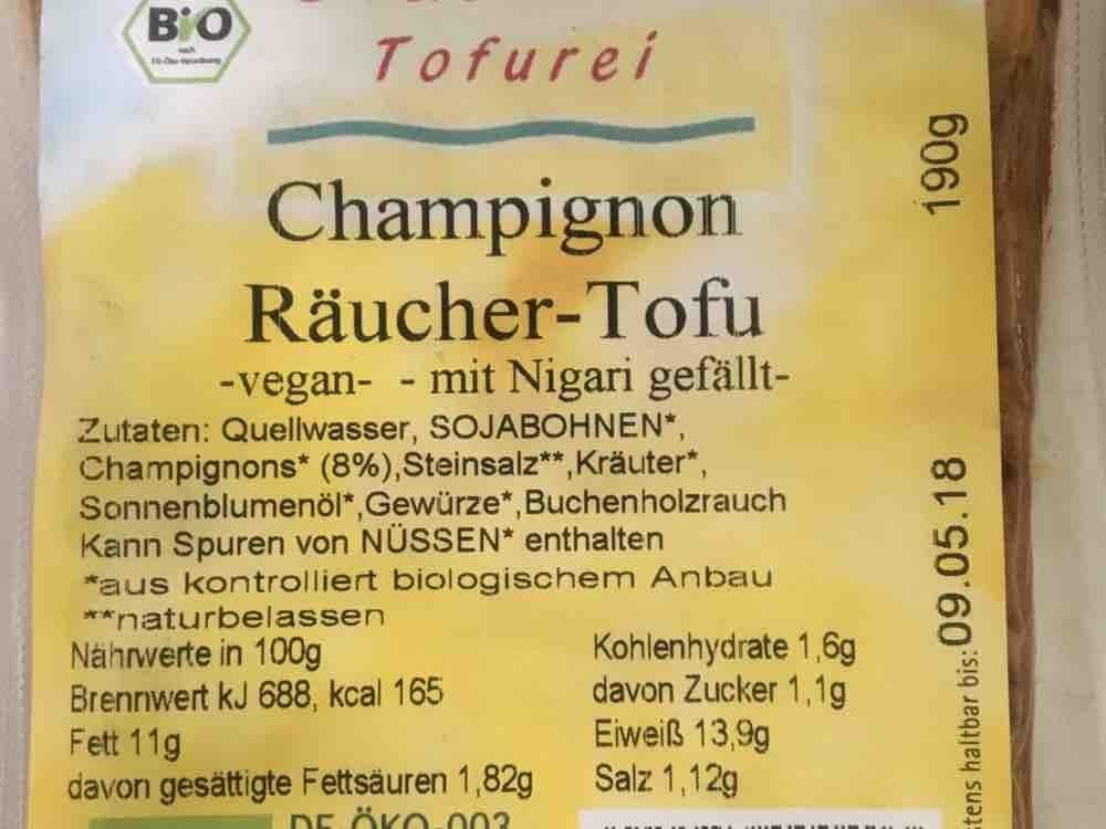 Champignon Räucher-Tofu von blondieK | Hochgeladen von: blondieK
