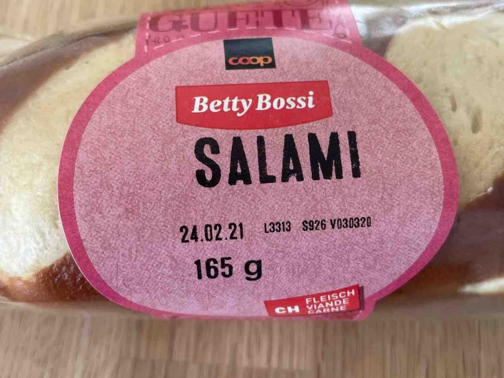Sandwich mit Salami von coletrickle   Hochgeladen von: coletrickle