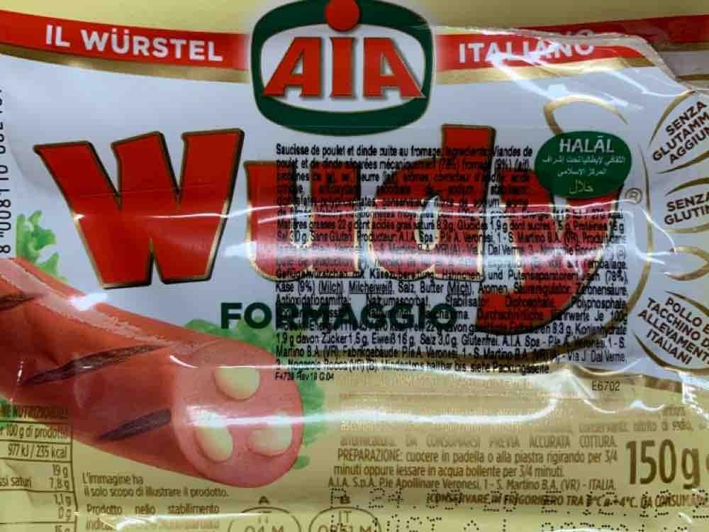 Wudy Geflügelwürstchen mit Käse von mkuehrt | Hochgeladen von: mkuehrt